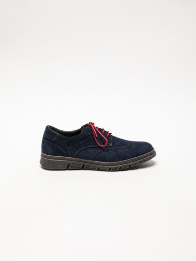 Foreva Navy Derby Shoes