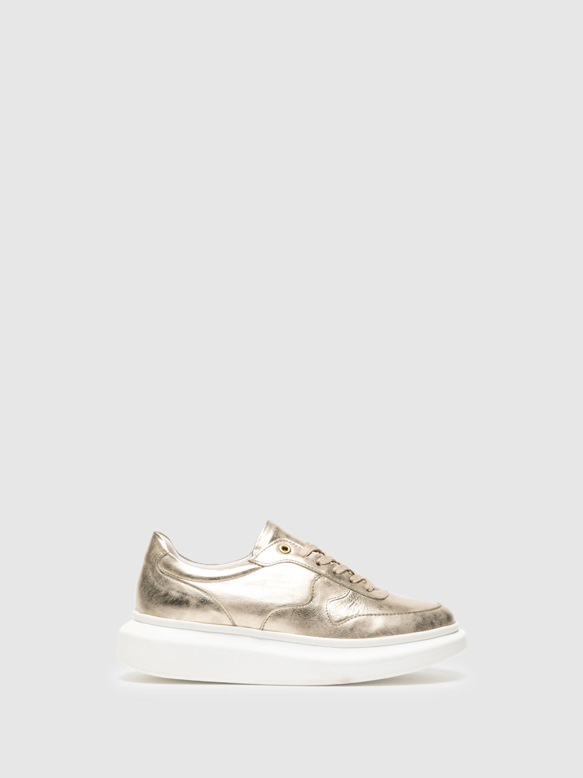 Foreva Gold Platform Trainers