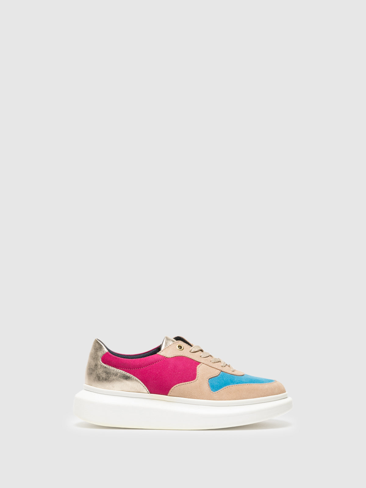 Foreva Multicolor Platform Trainers