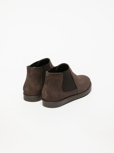 Foreva Brown Chelsea Ankle Boots