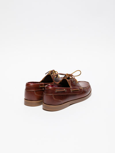 Foreva Brown Nautical Shoes