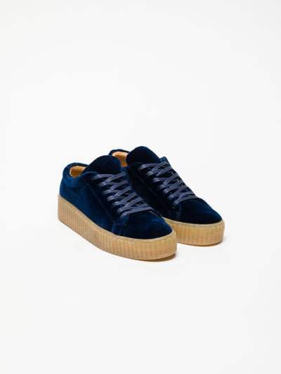 Foreva DarkBlue Lace-up Trainers