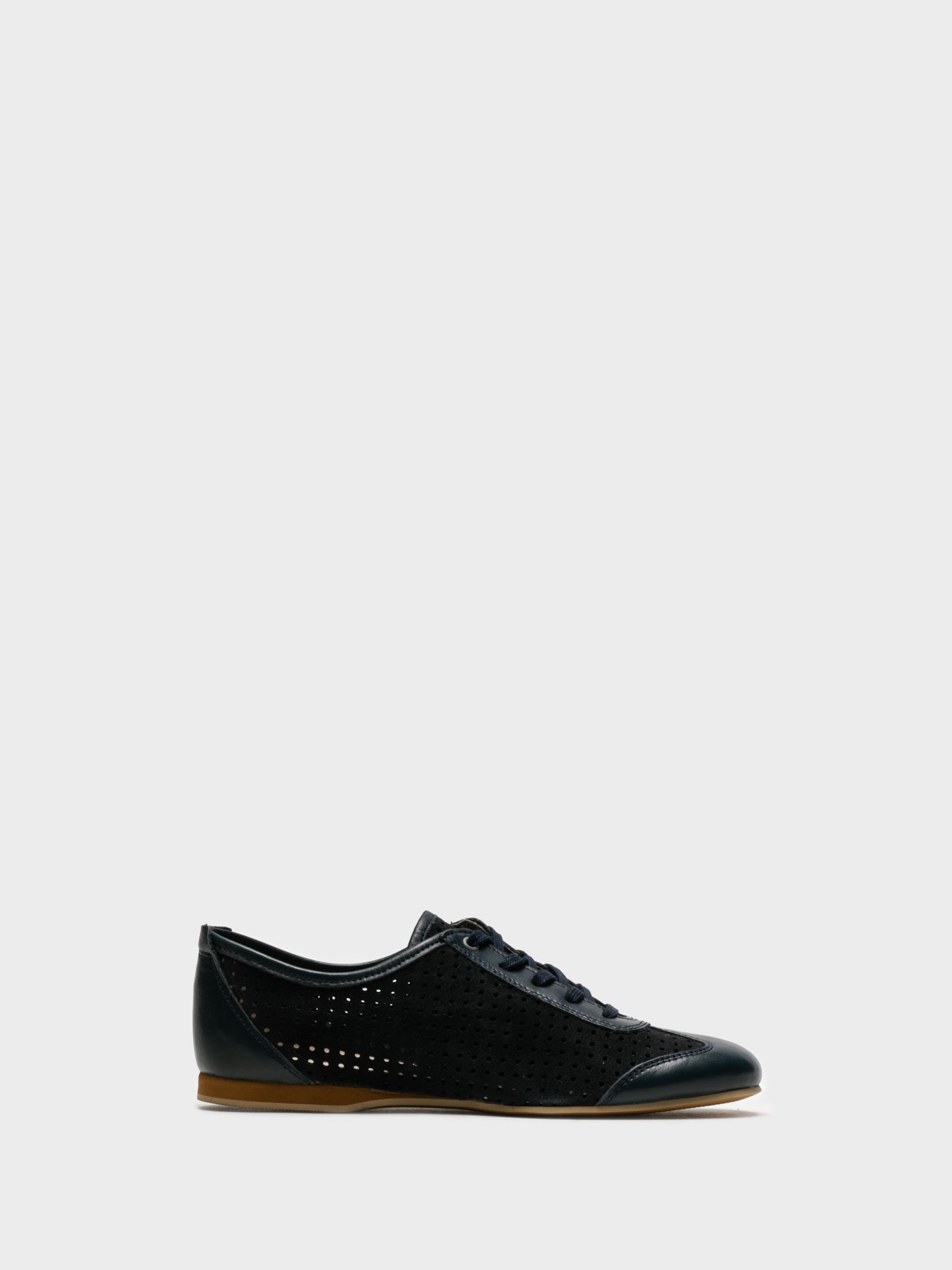 Foreva Blue Lace Fastening Shoes