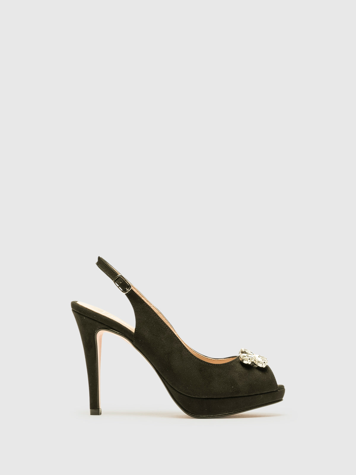 Foreva Black Platform Shoes