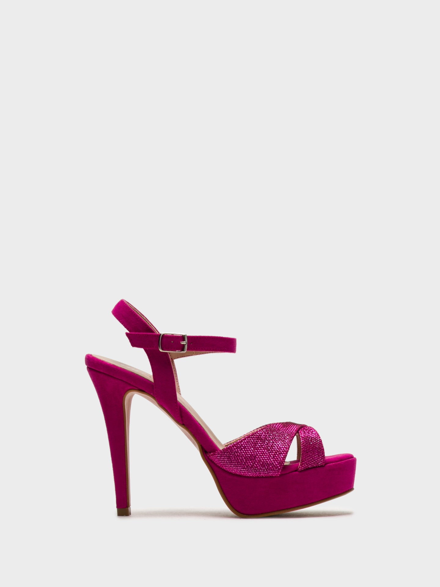 Foreva HotPink Sling-Back Pumps Sandals
