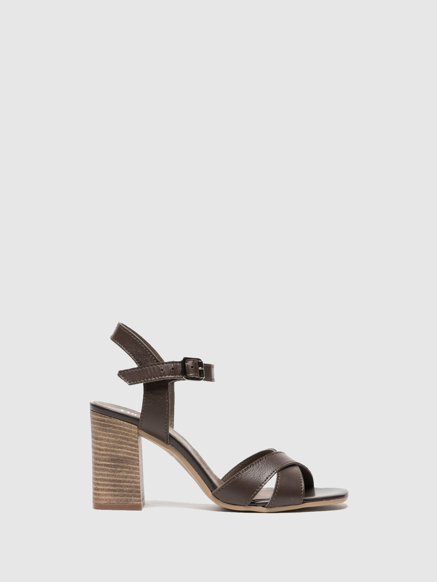 Foreva Brown Sling-Back Sandals