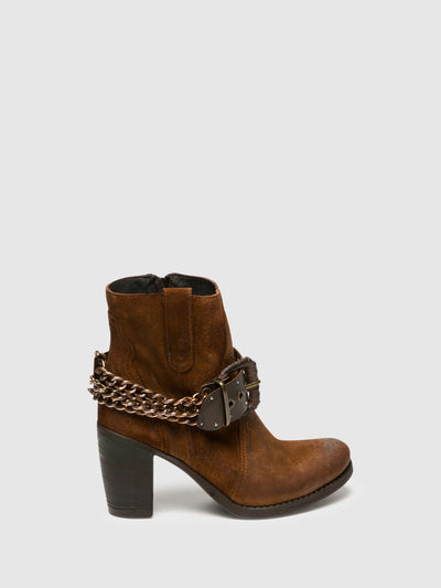 Foreva Peru Buckle Ankle Boots