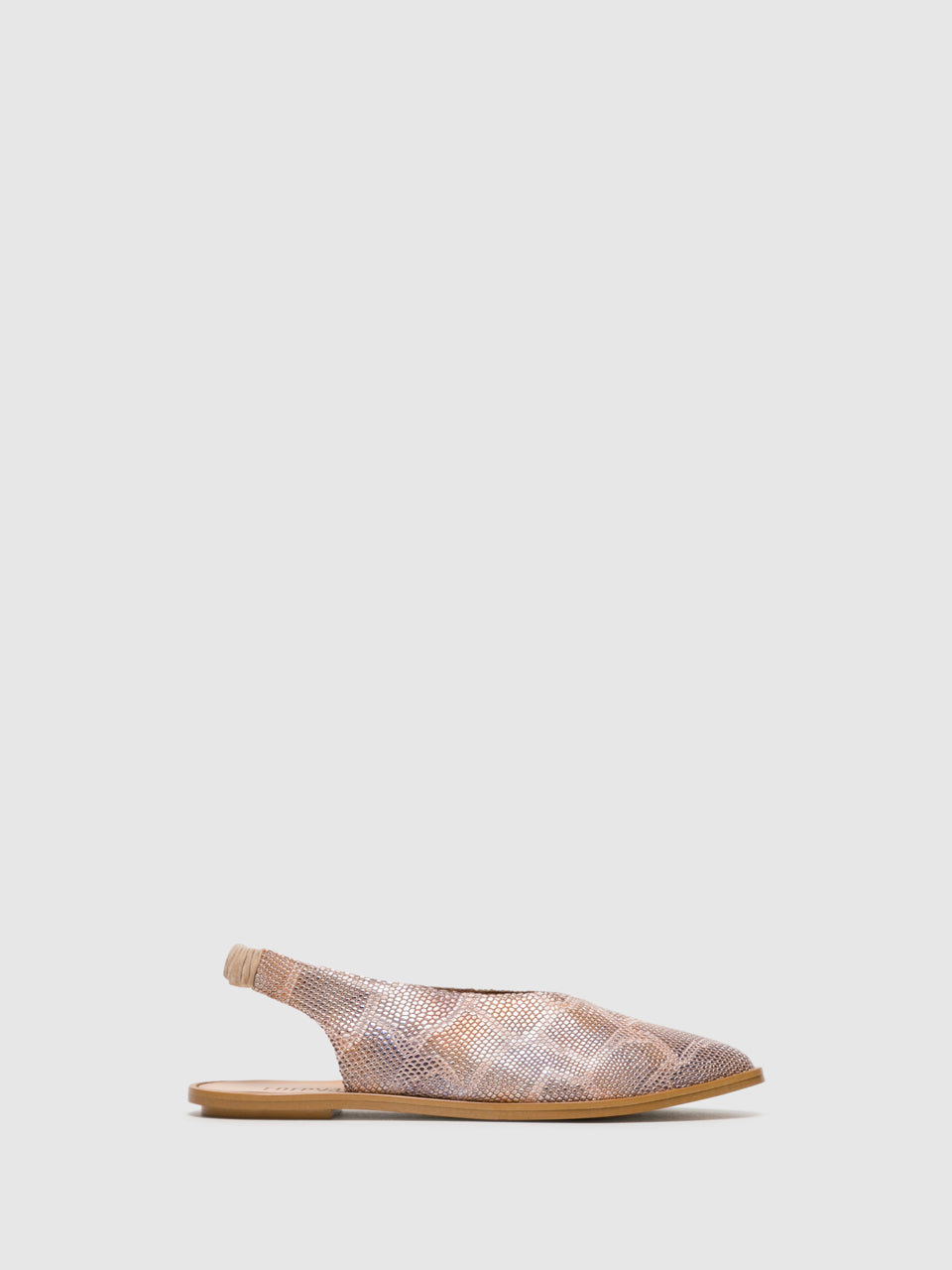 Foreva Beige Sling-Back Sandals