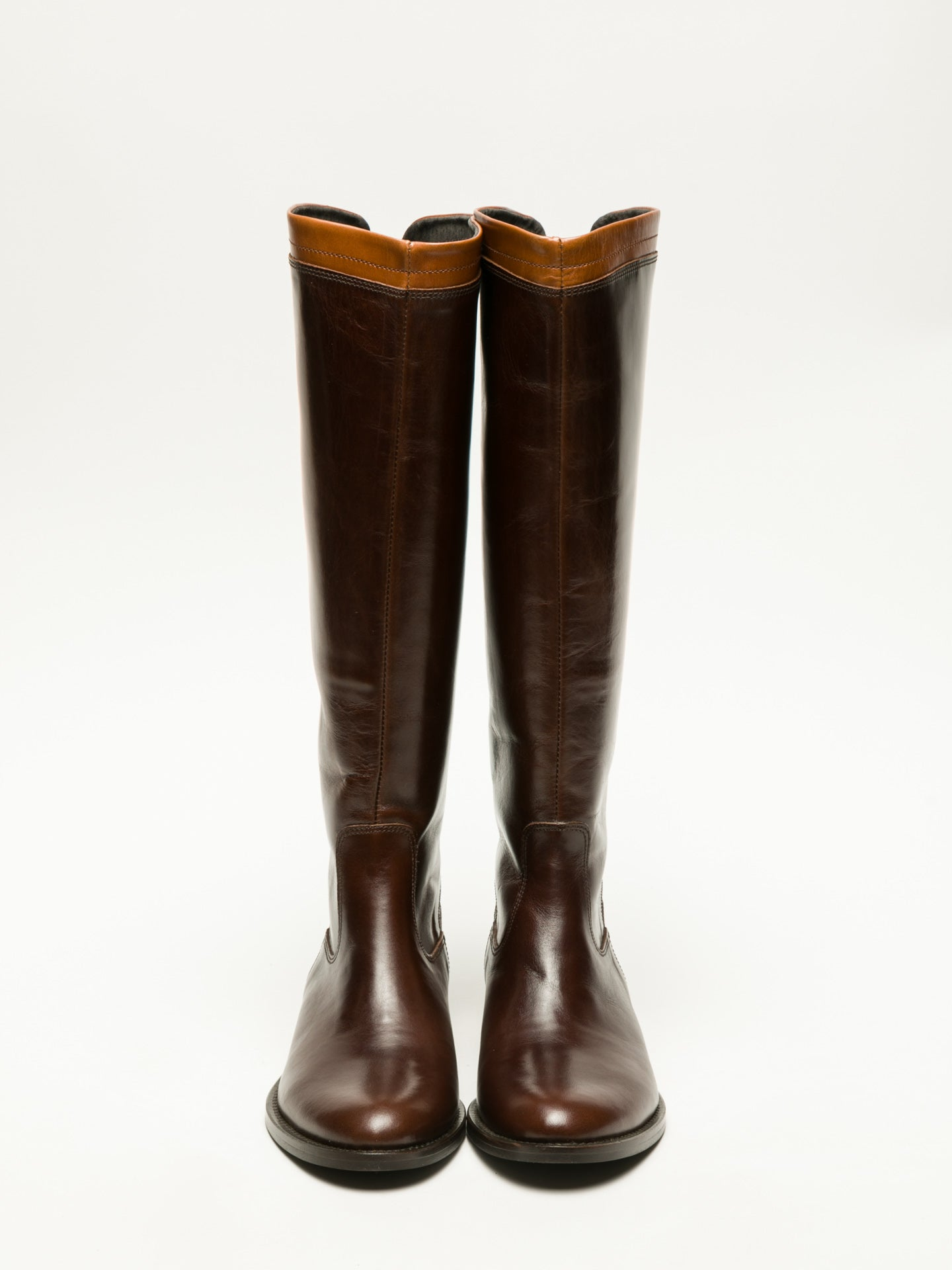Foreva Brown Knee-High Boots