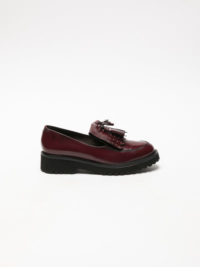 Foreva DarkRed Round Toe Shoes