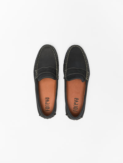 Foreva Blue Loafers Shoes