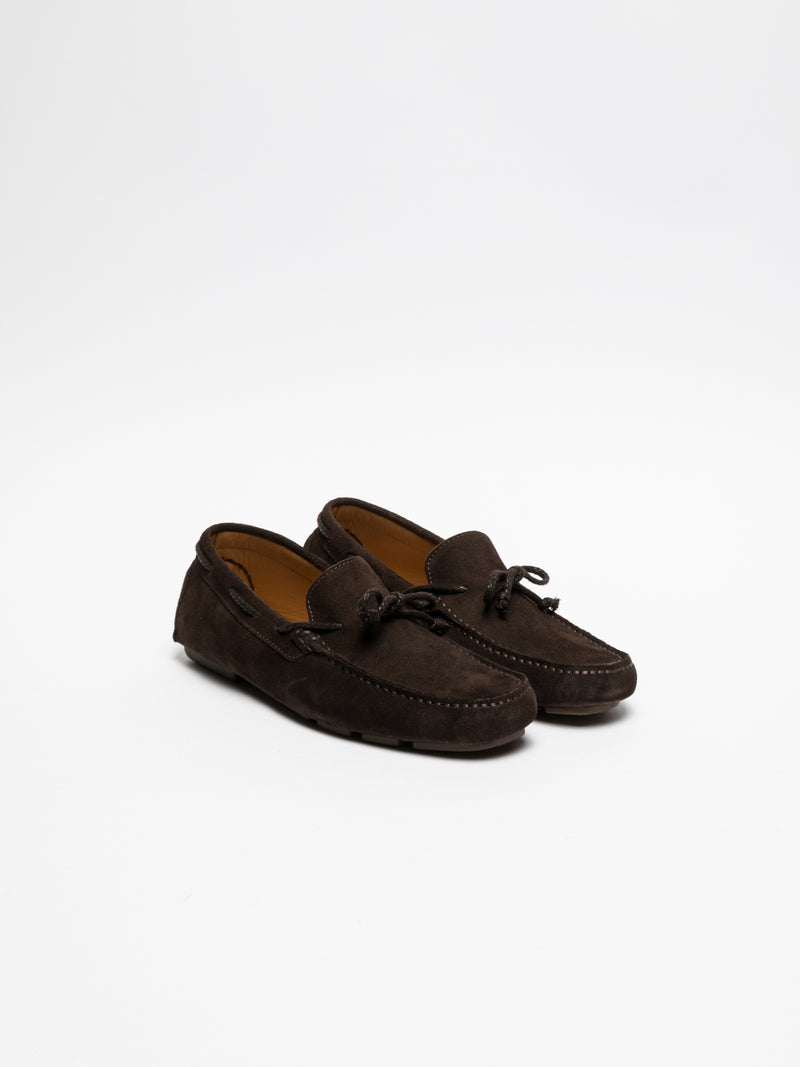 Brown Mocassins Shoes