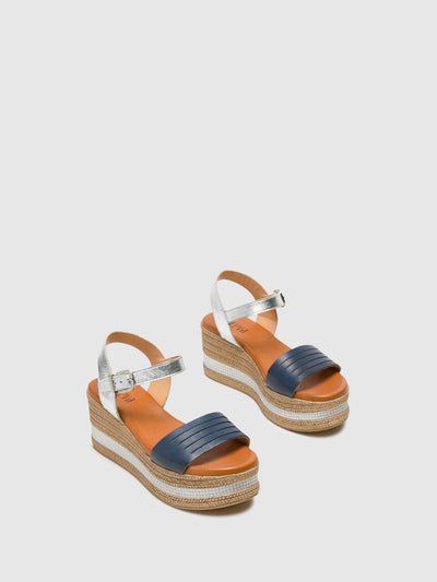 Foreva Multicolor Buckle Sandals