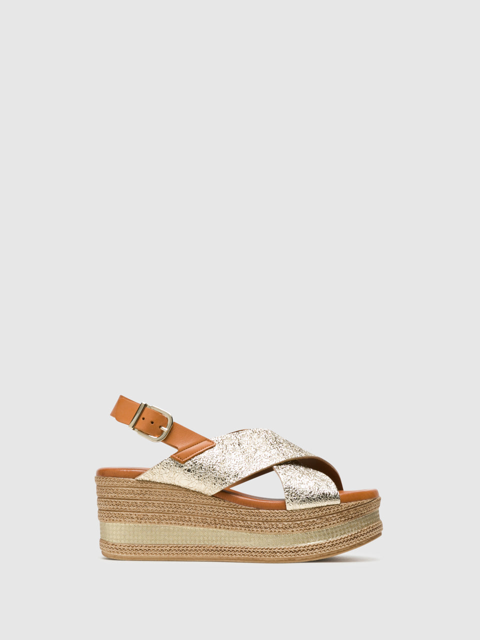 Foreva Gold Buckle Sandals