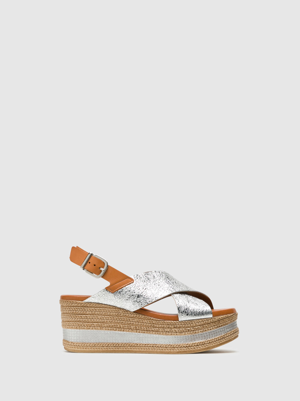 Foreva Silver Buckle Sandals