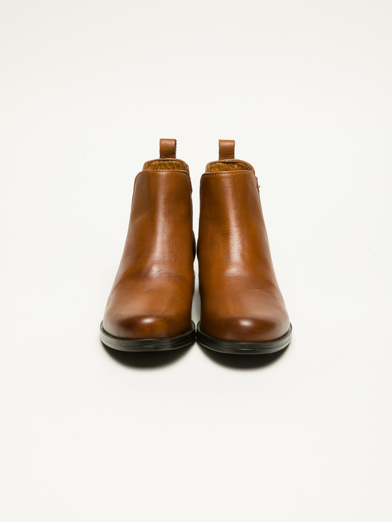 Brown Chelsea Ankle Boots