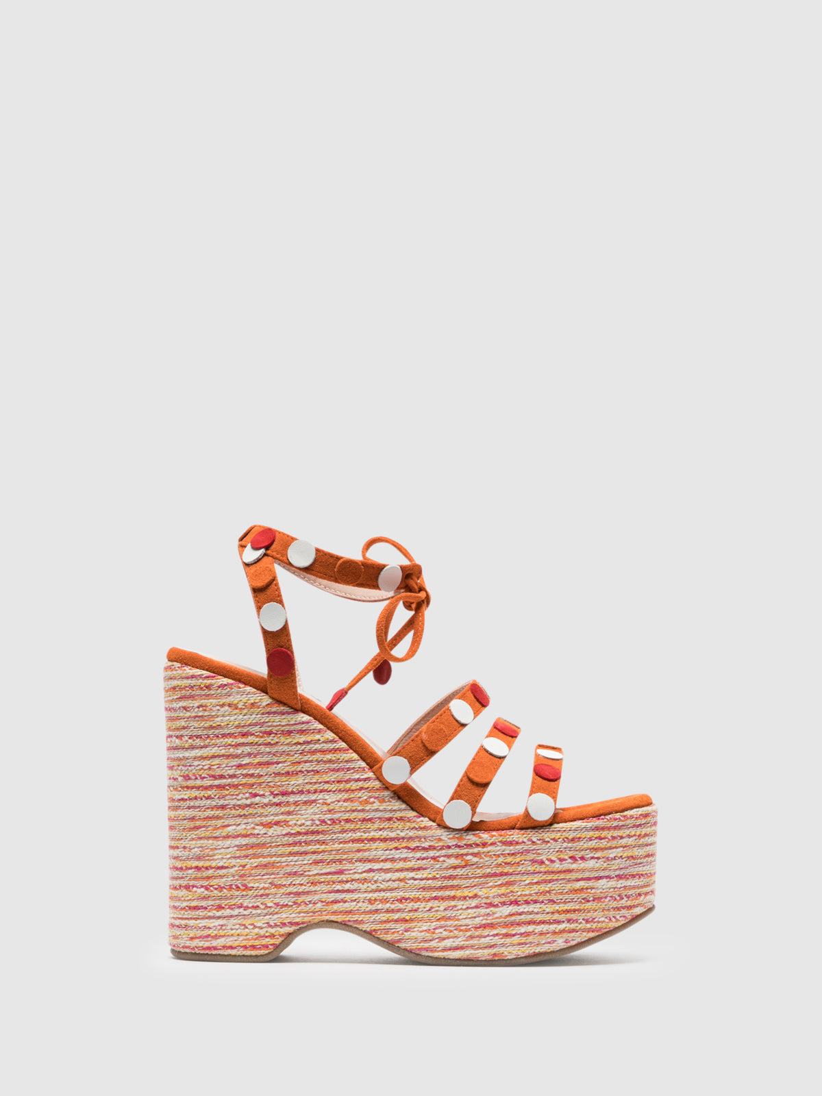 Foreva Orange Strappy Sandals