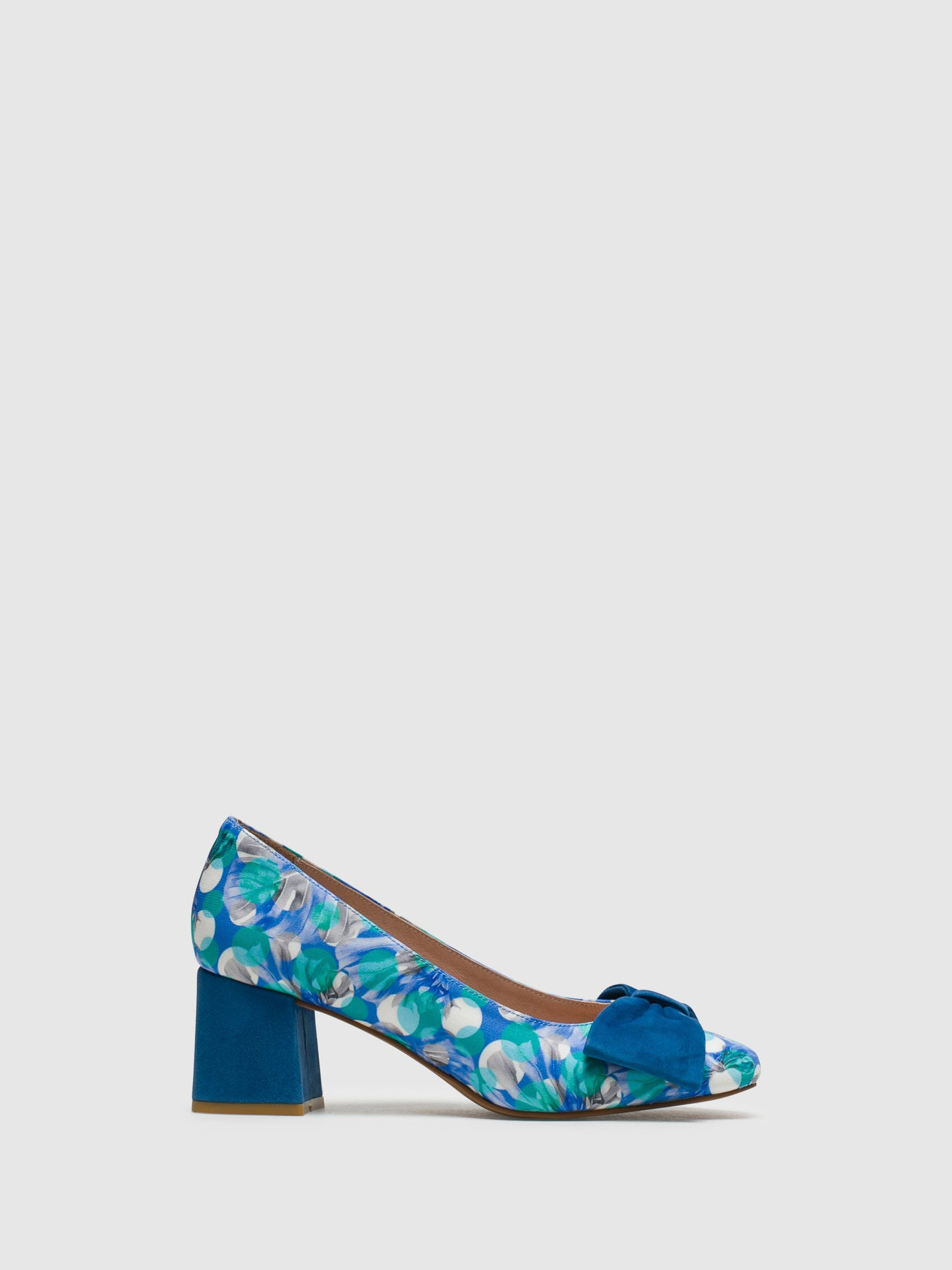 Foreva Blue Round Toe Shoes