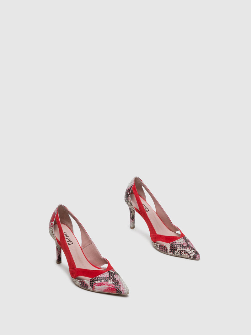 Foreva Red Stiletto Shoes