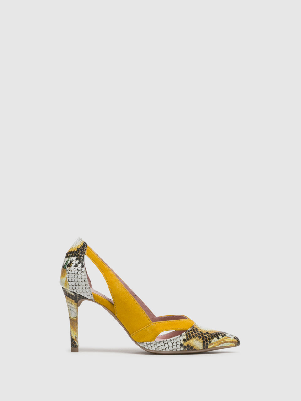 Foreva Yellow Stiletto Shoes