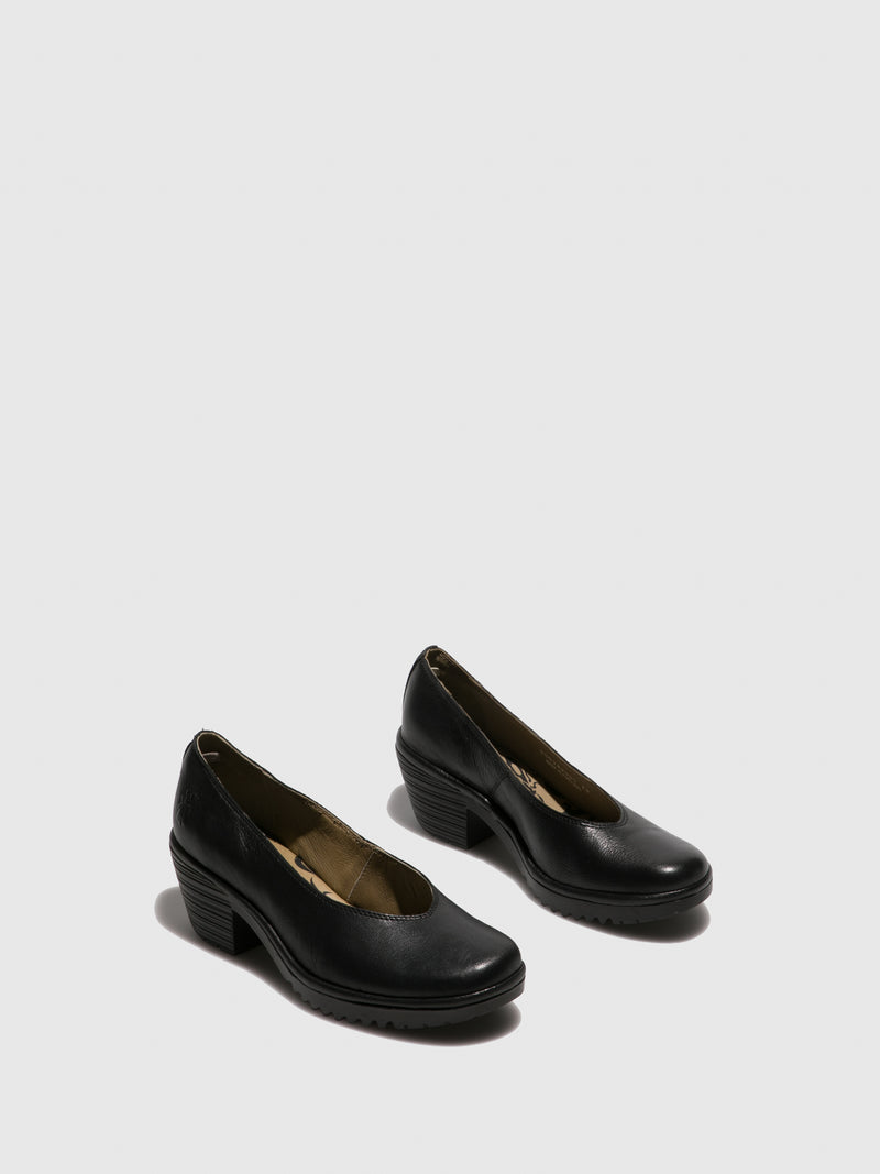Fly London Slip-on Shoes WALO988FLY MOUSSE BLACK