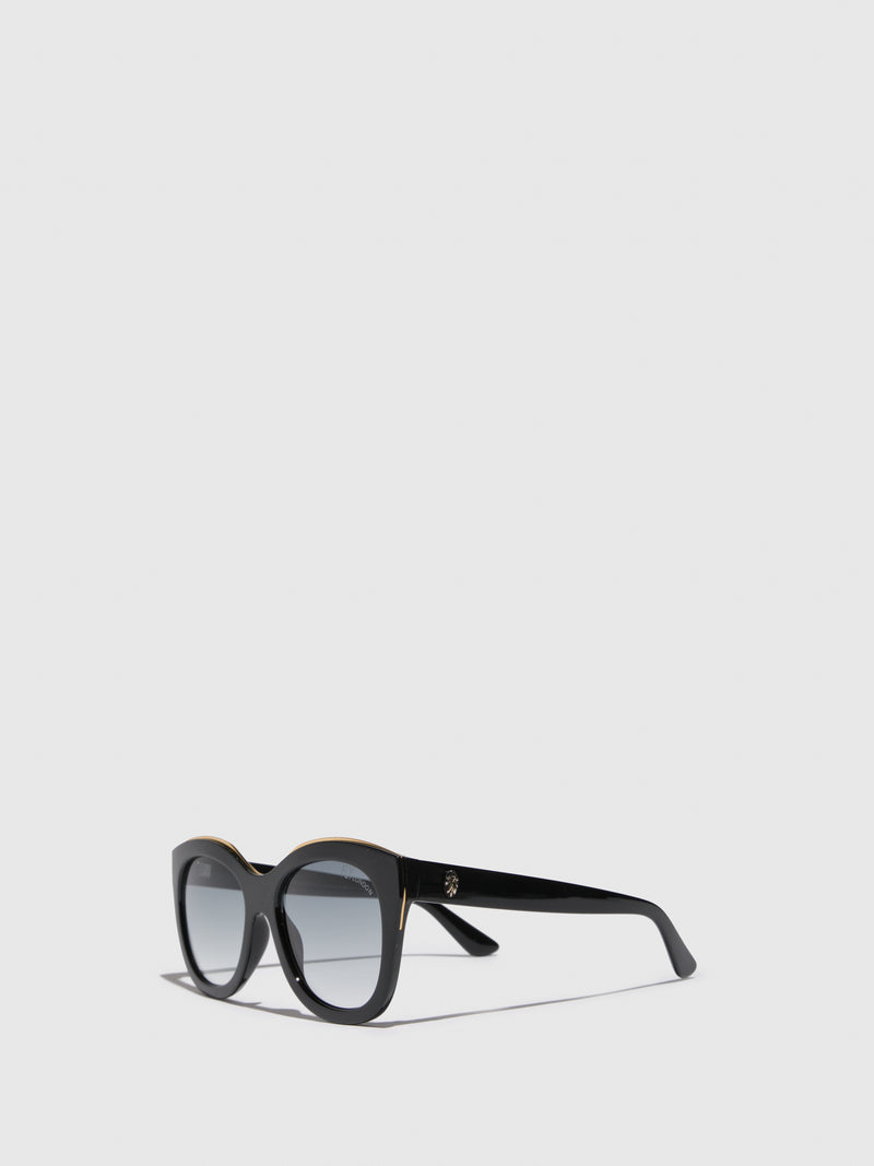 Fly London Black Butterfly Sunglasses
