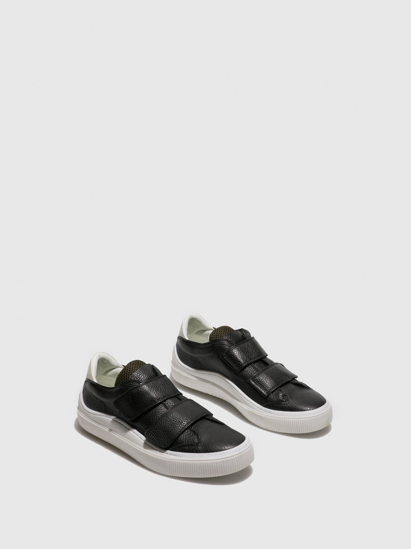 Fly London Black Velcro Trainers