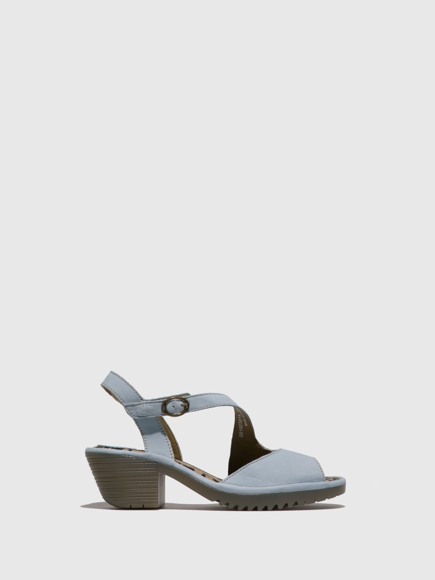 Fly London SkyBlue Velcro Sandals