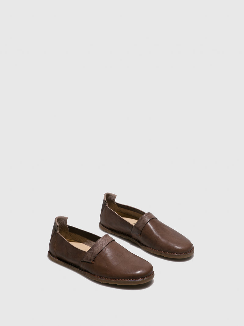 Brown Slip-on Shoes