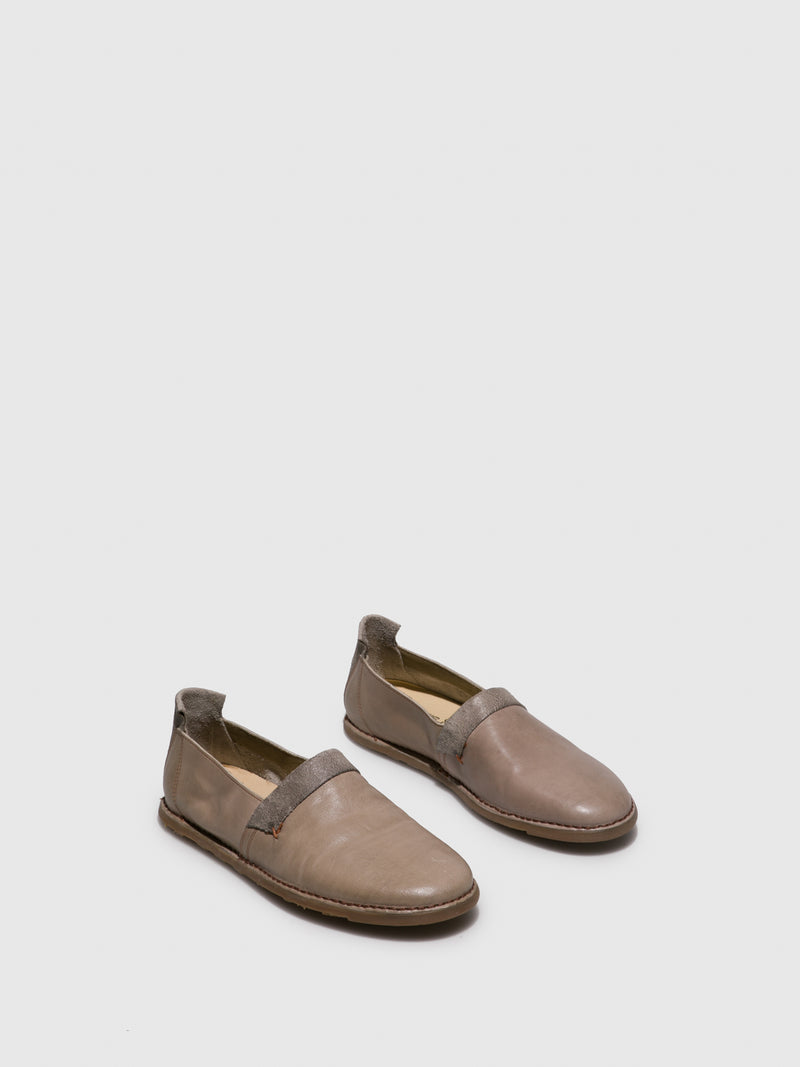 Fly London Wheat Slip-on Shoes