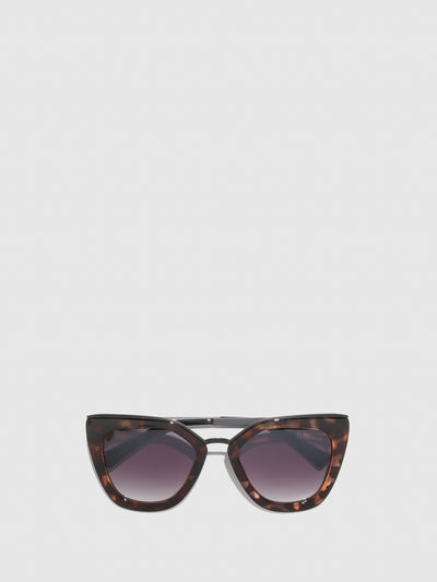 Fly London Brown Butterfly Sunglasses