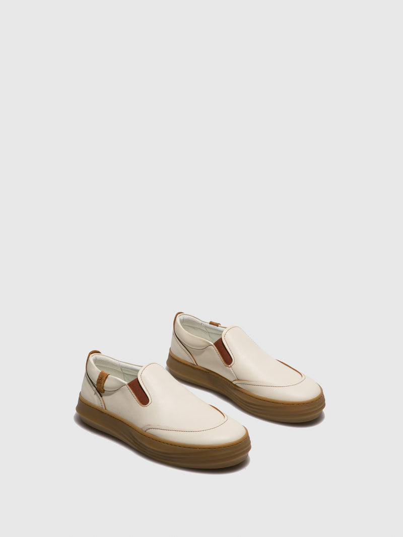 Wheat Slip-on Trainers