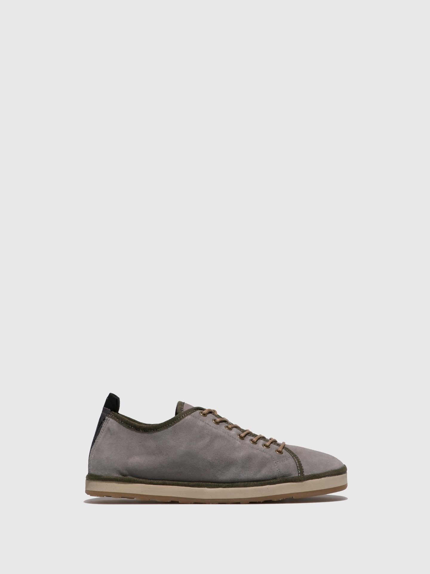 Fly London LightGray Lace-up Shoes