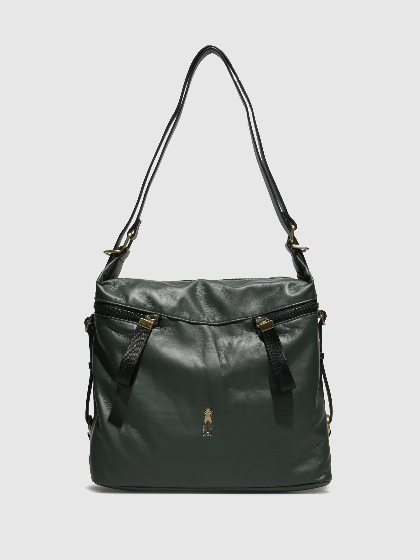 Fly London Shoulder Bags ARYA706FLY ATWOOD DK GREEN