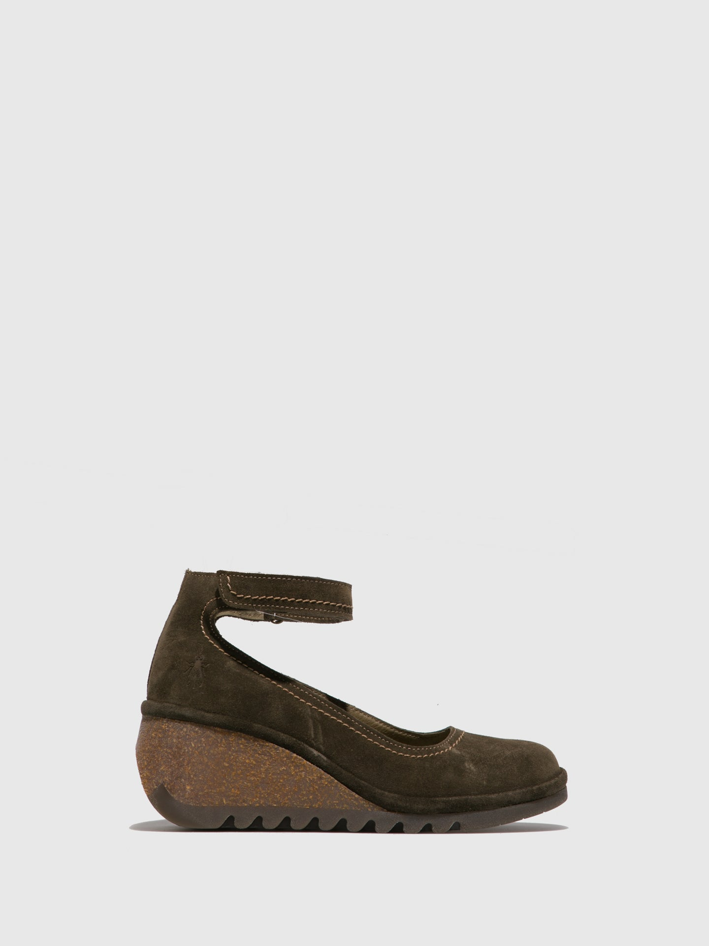 Fly London Olive Wedge Shoes