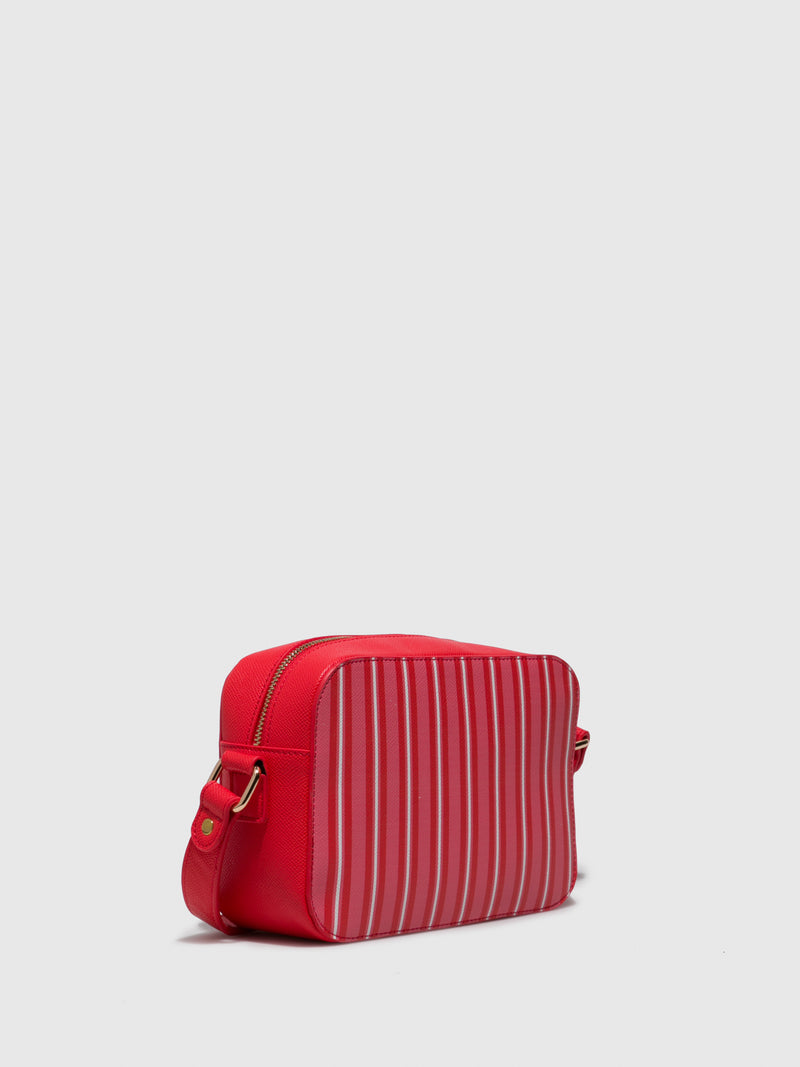 Red White Crossbody Bag