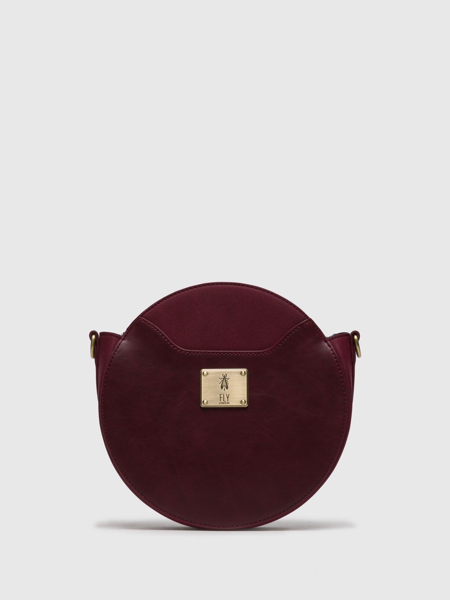 Fly London DarkRed Crossbody Bag