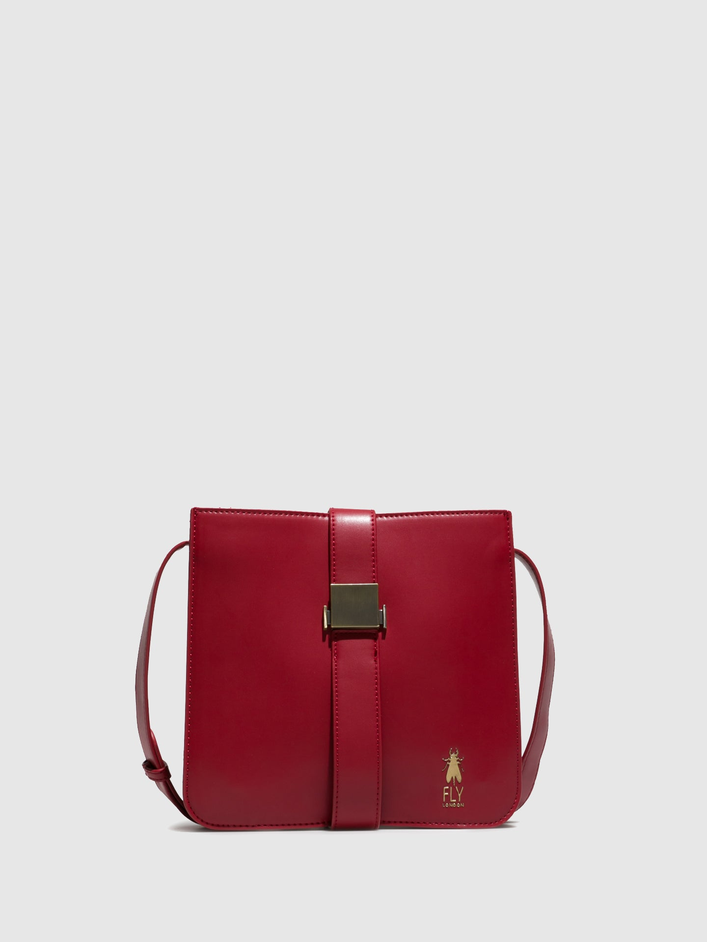 Fly London Shoulder Bags ANJU709FLY COLETTE DK RED