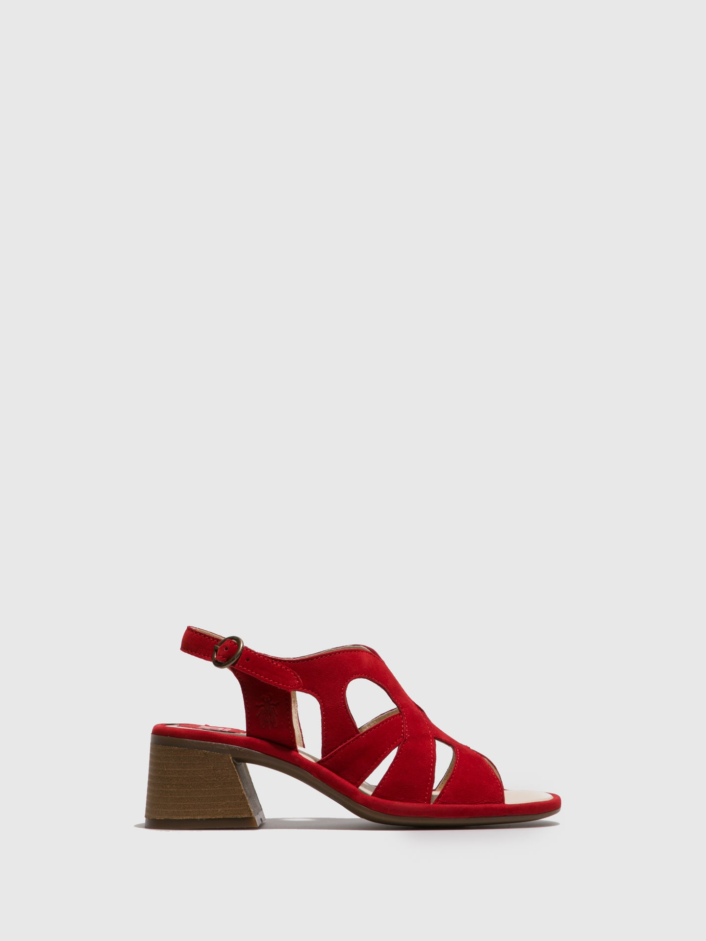 Fly London Firebrick Open Toe Sandals