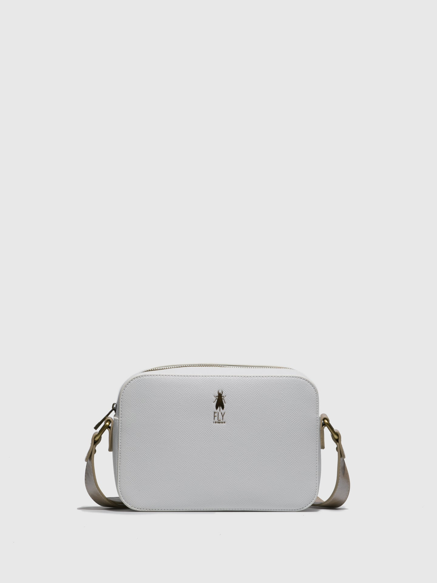 Fly London White Crossbody Bag