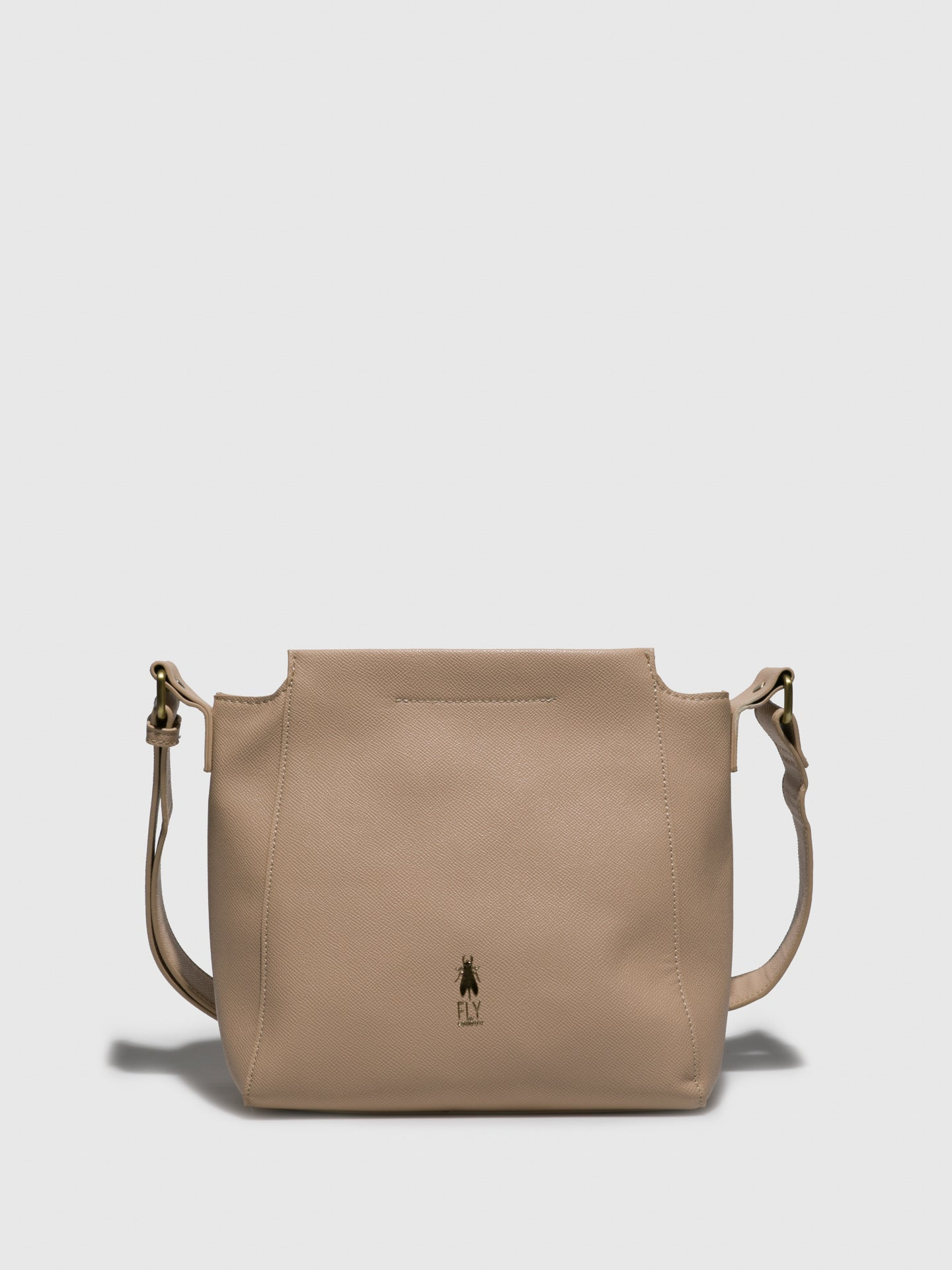 Fly London Beige Shoulder Bag