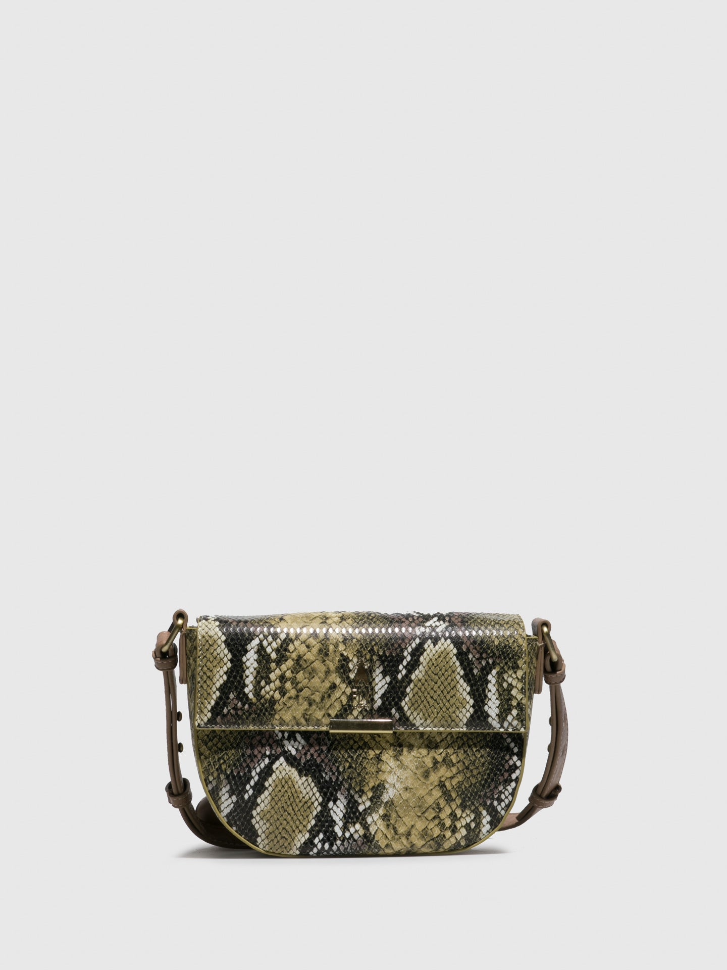 Fly London Shoulder Bags ALVO694FLY ROWLING/AUSTIN SNAKE BEIJE