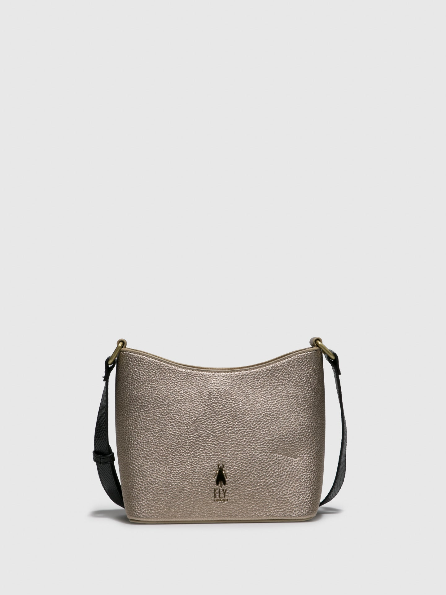 Fly London Gold Crossbody Bag