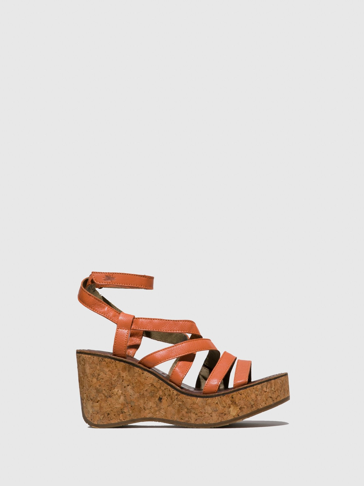 Fly London Sling-Back Sandals BIME169FLY OFFWHITE/CONCRETE