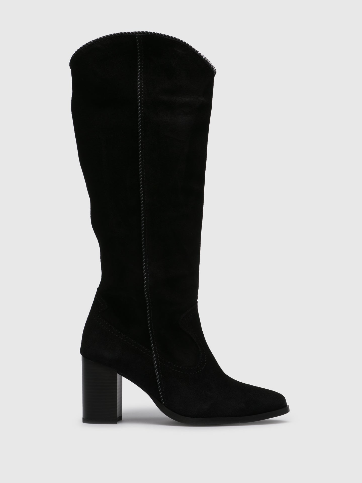 Foreva Black Pointed Toe Boots