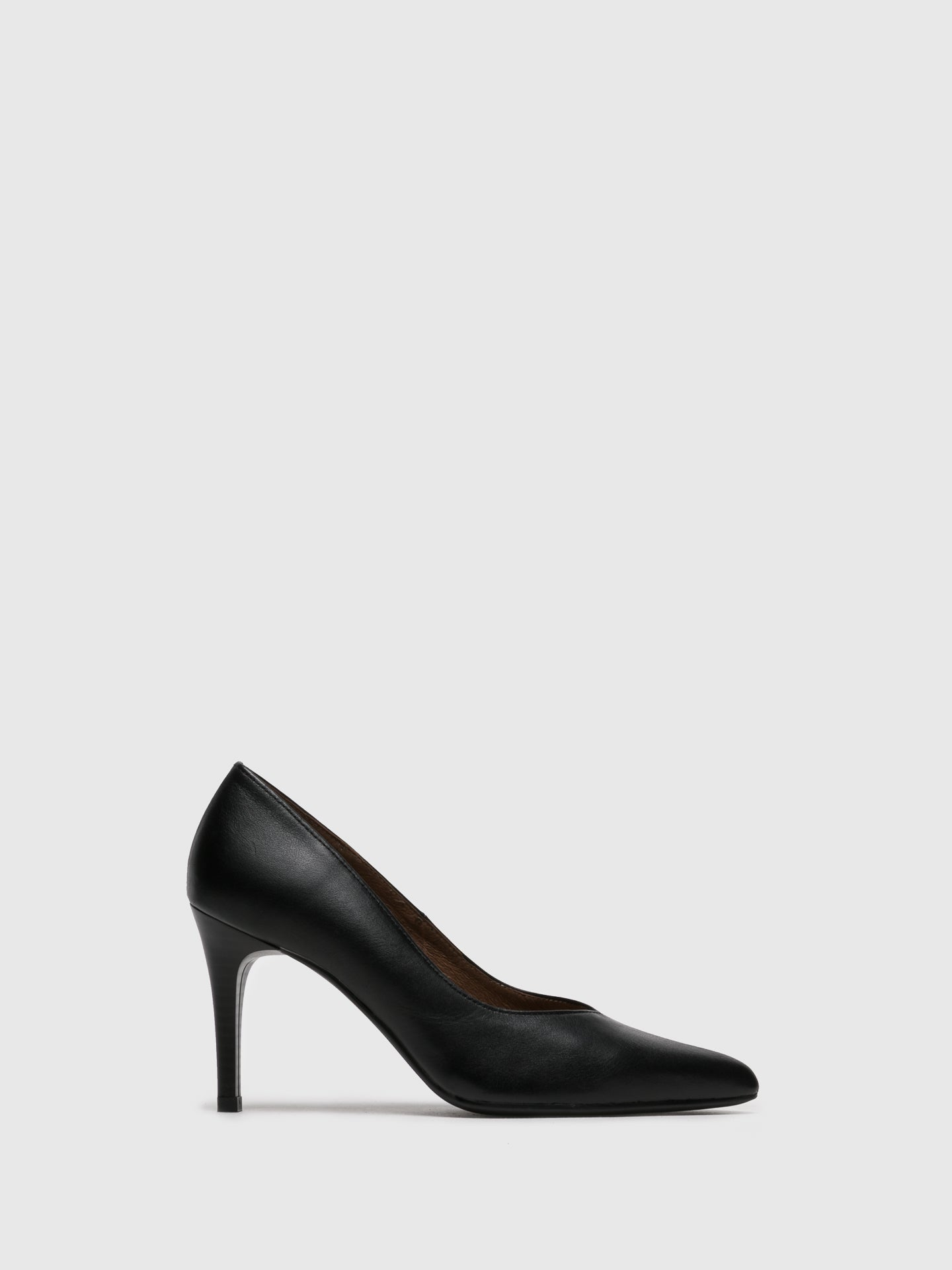 Foreva Black Pointed Toe Pumps
