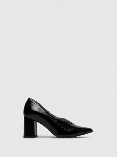 Foreva Black Pointed Toe Shoes