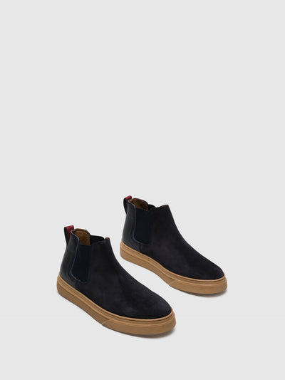 Foreva Blue Chelsea Ankle Boots