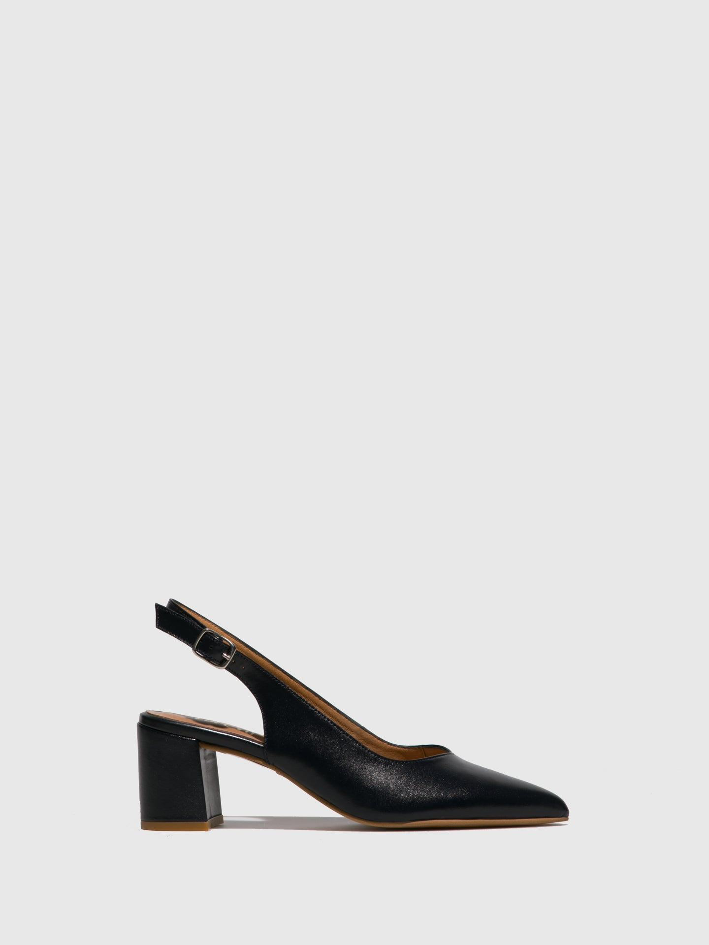 Foreva Blue Block Heel Shoes