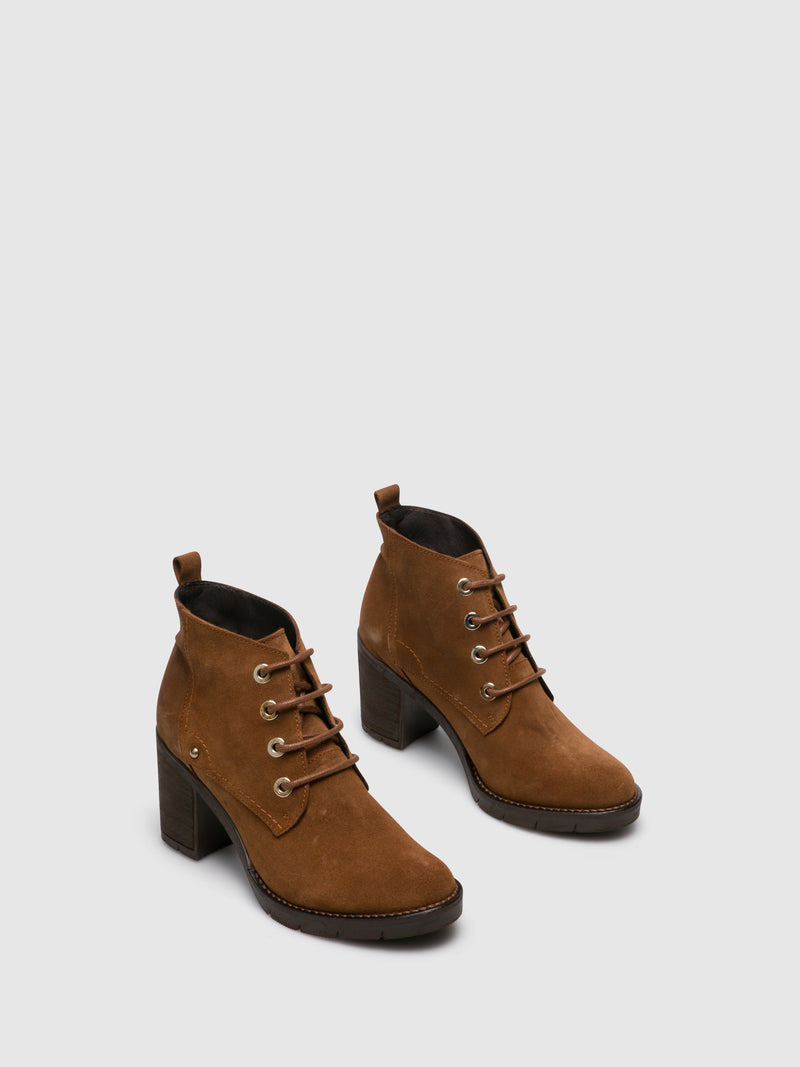 Peru Lace-up Ankle Boots